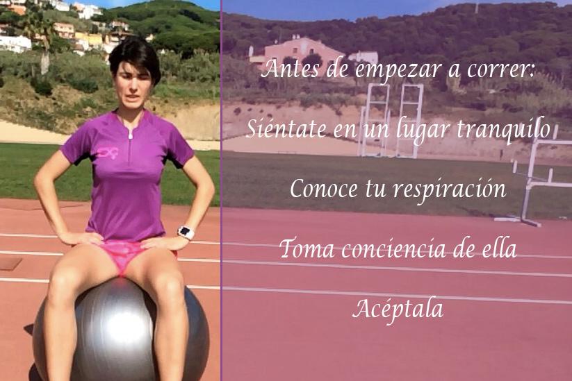 Respiración y running